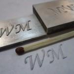 конгревное магниевое клише, механическая гравировка