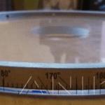 Маркировка по кругу. Лазерная гравировка на нержавеющей стали.