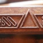 ударное клеймо, лазерная гравировка, сталь