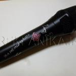 Гравировка на микрофоне. Лазерная гравировка