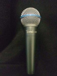 гравировка на микрофоне
